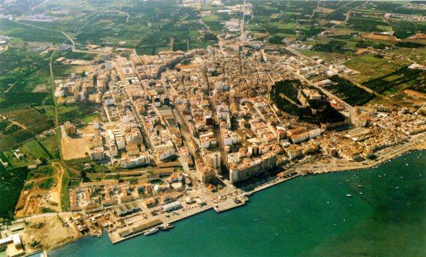 Dénia el 1980.