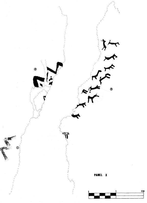 Plafó pintura rupestre MIgdia