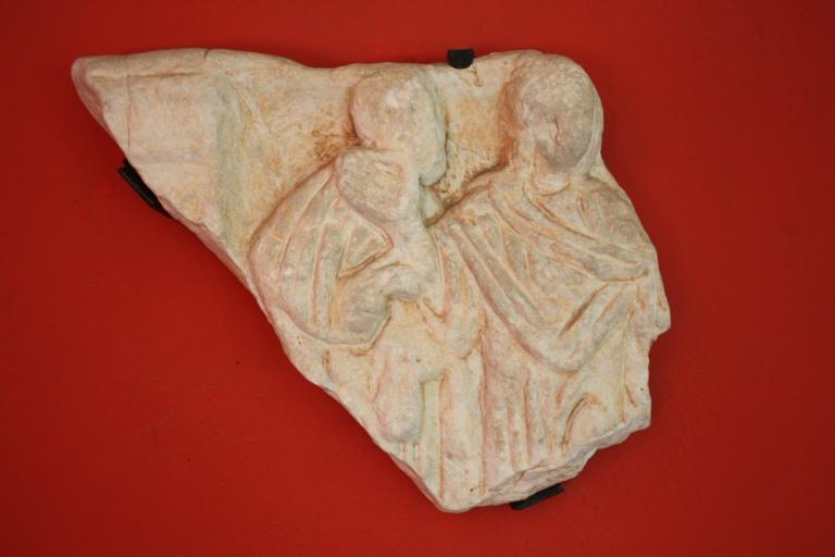 L´Orant, al Museu de Belles Arts, Sant Pius V de Valencia. (Foto Autor)