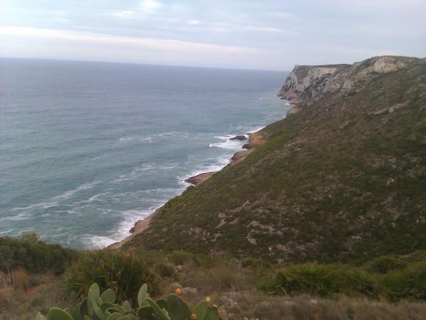 Litoral costaner amb el Cap de Sant Antoni.