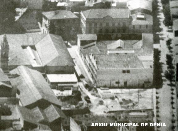 Fàbrica de Sauquillo (antiga fàbrica de munició), Font. Arxiu municipal de Dénia