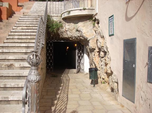 Túnel del castell, refugi.