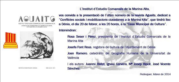 IECMA Invitacio Aguaits-febrer-2014