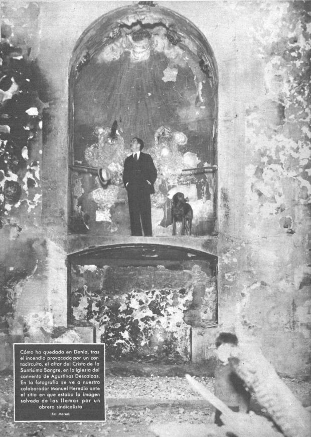 7 Mundo gráfico. 17-6-1936 Incendio SSMM Sangre