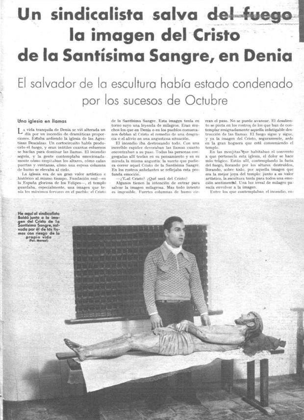 8 Mundo gráfico. 17-6-1936 Incendio SSMM Sangre