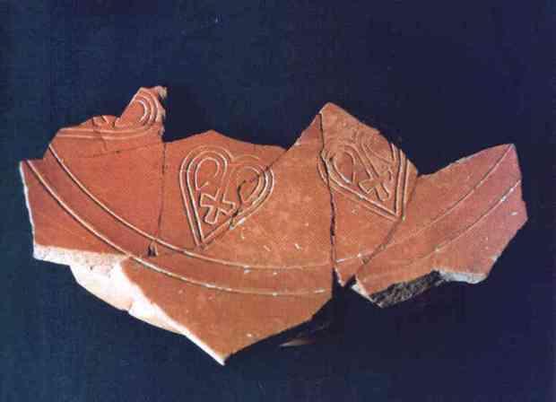 Materials de cronologia visigoda a la zona d' Alacant.