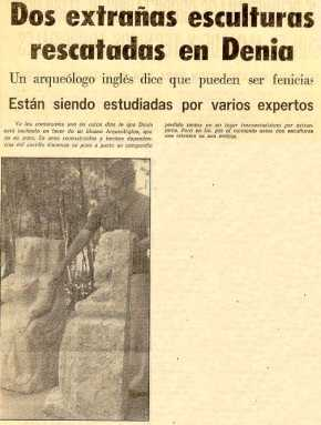 9 septiembre 1975 Esculturas Denia