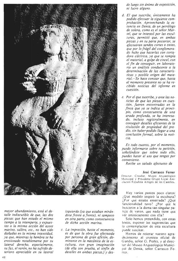 Boletin de la Asociación Española de Amigos de la Arqueologia, 1982. nº 15. pp. 46-49