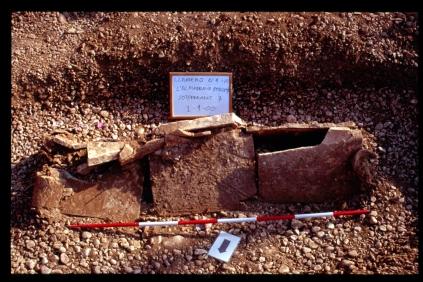 Imatges de les tombes (Fotos. Ricardo Sánchez)