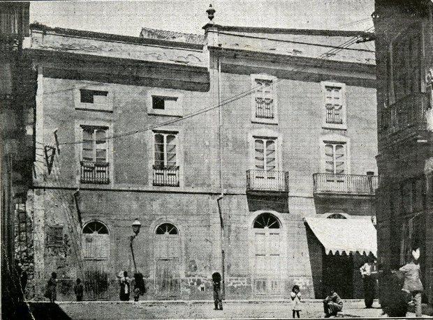 El teatre a principis del segle XX.Foto . Pasqual Ivars
