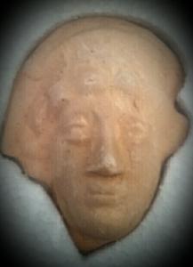 (Figura 1). Reproducció terracota deessa Diana.